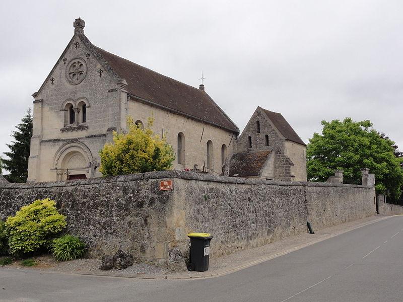 Rozières-sur-Crise (Aisne) église Saint-Martin (01)