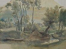 Landschaft (Gouache), 1635/1640 (Quelle: Wikimedia)