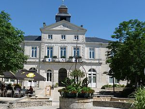 Ruffec, Charente - Town hall
