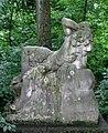Ruhender Faun, von Adolf Baermann, Bavariapark Muenchen-1.jpg