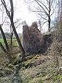 Ruinenreste- Turm der Burg Hohenburg bei Thalheim.jpg