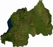 Il Ruanda dal Satellite