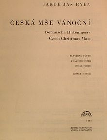 Czech Christmas Mass - Wikipedia | 220 x 289 jpeg 6kB