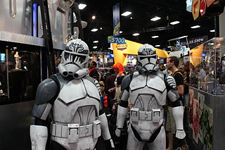 Clone trooper Fictional class of soldiers in the Star Wars series