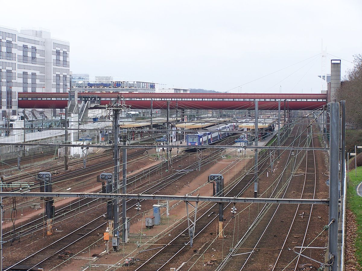 Station Saint Quentin En Yvelines Montigny Le Bretonneux