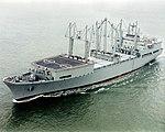 SS Wright (T-AVB-3) underway at sea on 26 January 2007.jpg