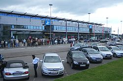 Saarbrücken - Flughafen - SCN - Terminal.jpg
