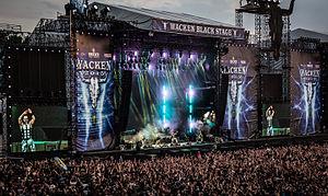 Sabaton (band) - Sabaton performing at Wacken Open Air, Germany in 2015