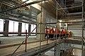 Saeimas deputāti apmeklē Latvijas Nacionālās bibliotēkas būvlaukumu (5594859950).jpg