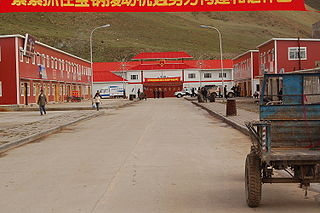 County in Tibet, People