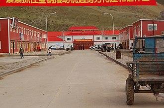 Zhongba County - Image: Saga Shigatse District Tibet Administration Dieter Schuh
