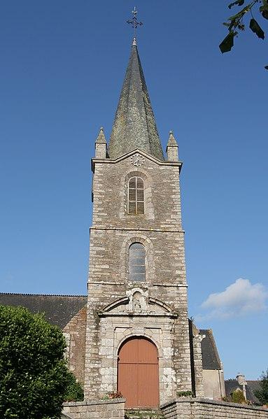 Église Saint-Étienne de Saint-Abraham.