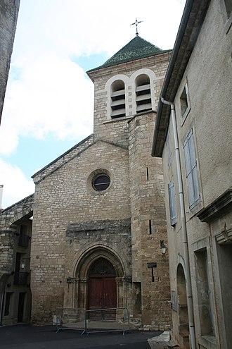 Saint-Geniès-de-Fontedit - Image: Saint Geniès de Fontedit facade eglise