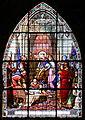 Saint-Louis et le roi de Navare - Vitrail de l'église St-Jacques de Compiègne.JPG