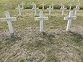 Saint-Rémy-la-Calonne (Meuse) nécropole nationale (05) trois tombes de la compagnie d'Alain-Fournier.JPG