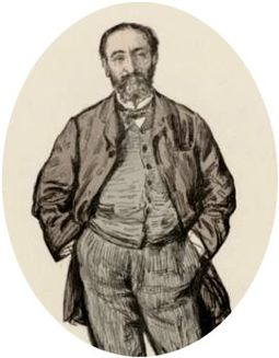 Saint-Saens in 1875, the year of his marriage Saint-saens-1875.jpg