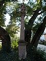 Saint Donat statue. Listed ID 5700. - 3, Szent Bertalan St., Gyöngyös, Hungary.JPG
