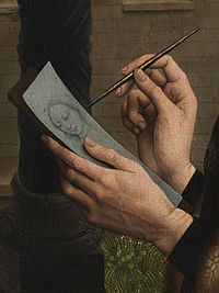 st luke drawing the virgin and Saint luke drawing the virgin by weyden , rogier , van der ( ca  1399 1464 ) , the netherlands , 15th century  state hermitage , st  petersburg state hermitage , st  petersburg petersburg.