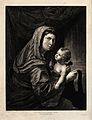 Saint Mary (the Blessed Virgin) with the Christ Child. Etchi Wellcome V0033765.jpg