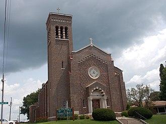 Delmar, Iowa - St. Patrick's Catholic Church