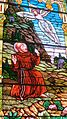 Saint Remy Catholic Church (Russia, Ohio) - stained glass, Saint Francis receives the stigmata from a seraph.jpg