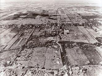 Saint-Bruno-de-Montarville - Aerial view of Saint-Bruno in 1952
