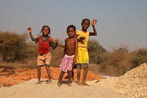 Malagasy people - Sakalava children