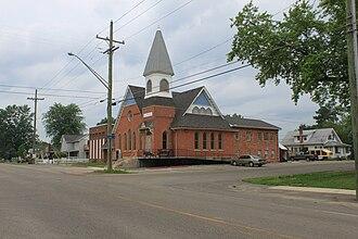 Salem Township, Washtenaw County, Michigan - Image: Salem Township Salem Bible Church