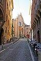 Salita verso San Giovanni in Monte da via Farini. - panoramio.jpg