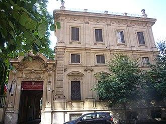 Boncompagni Ludovisi Decorative Art Museum - Image: Sallustiano v Boncompagni villino Boncompagni Ludovisi e Museo 1280048