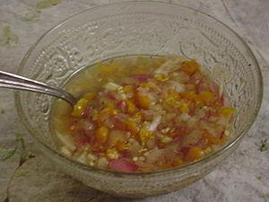 Ají (sauce) - Image: Salsa de Aji Charapita