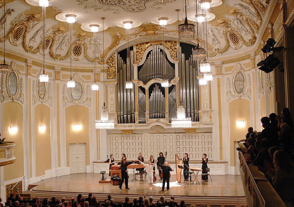 Salzburg Mozarteum Saal