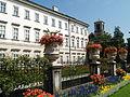 Salzburgo, palacio Mirabell, fachada..JPG
