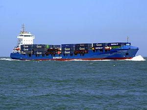 Samskip Courier approaching Port of Rotterdam 20-Jun-2007.jpg
