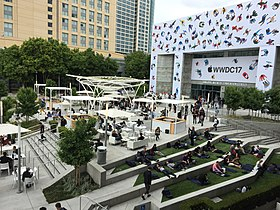WWDC 2017 au San Jose Convention Center.
