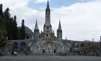 Lourdes apparitions - The Sanctuary of Our Lady of Lourdes