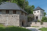 Sankt Georgen am Längsee Burg Hochosterwitz 04 Engeltor und 05 Löwentor 01062015 4257.jpg