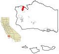 Santa Barbara County California Incorporated and Unincorporated areas Santa Maria Highlighted.svg