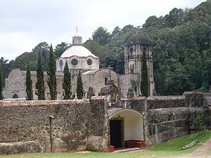 Tenancingo, State of Mexico - Desierto del Carmen monastery