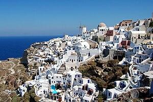 Oia, Greece - Santorini Oia