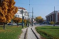 Sarajevo Tram-Line Zeljeznicka-Stanica 2011-10-31.jpg