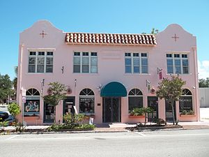 Downtown Sarasota Historic District - Warren Building, in the district