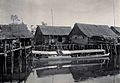 Sarawak; a Malay fishing village at the mouth of the Trusan Wellcome V0037450.jpg