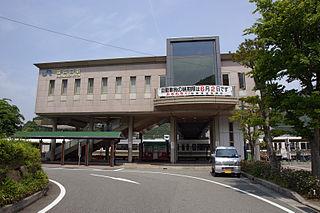 Sasayamaguchi Station Railway station in Tamba-Sasayama, Hyōgo Prefecture, Japan