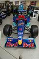 Sauber C18 1999 Formula1 Racer Jean Alesi Petronas-Red Bull Racing AboveNose SATM 05June2013 (14414069190).jpg
