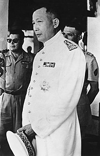 Sisavang Vatthana Last monarch of the Kingdom of Laos (reigned 1959-75)