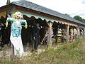 Scarecrow Exhibition - geograph.org.uk - 1443357.jpg