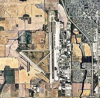 Schilling Air Force Base - 2006 USGS Orthophoto