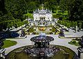 Schlosspark Linderhof, Königliche Villa (9682861599).jpg