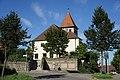 Schwäbisch Hall - Gailenkirchen - Kirche und Gefallenendenkmal von Westen.jpg